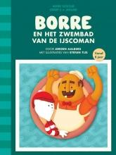 Jeroen  Aalbers Borre en het zwembad van de ijscoman