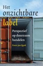 Evert-jan  Quak Het onzichtbare label