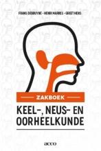 Greet Hens Frans Debruyne  Henri Marres, Zakboek keel-, neus-, oorheelkunde