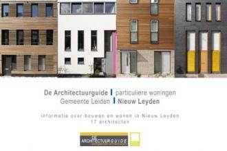 Martijn  Heil De Architectuurguide, gemeente Leiden, particuliere woningen, nieuw Leyden