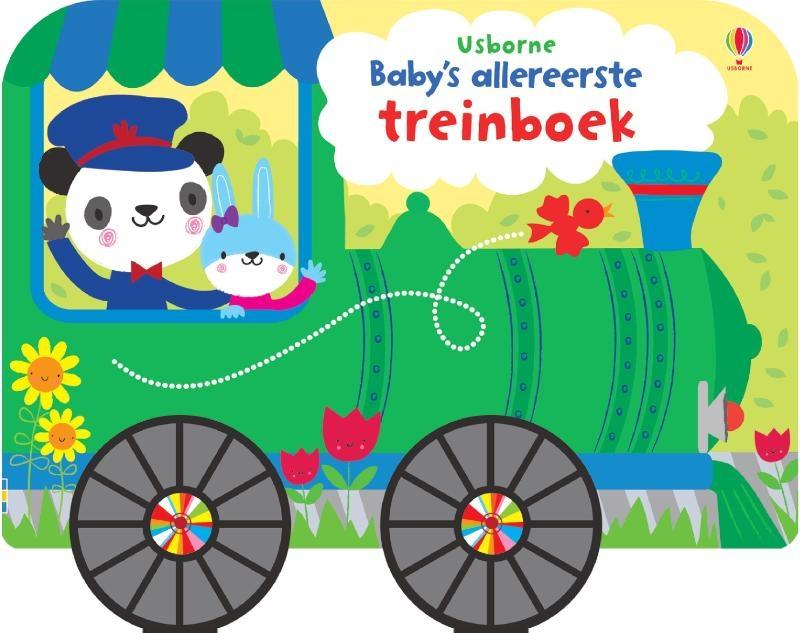 ,Baby`s allereerste treinboek