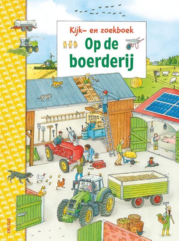 Christina Braun,Kijk- en zoekboek - Op de boerderij