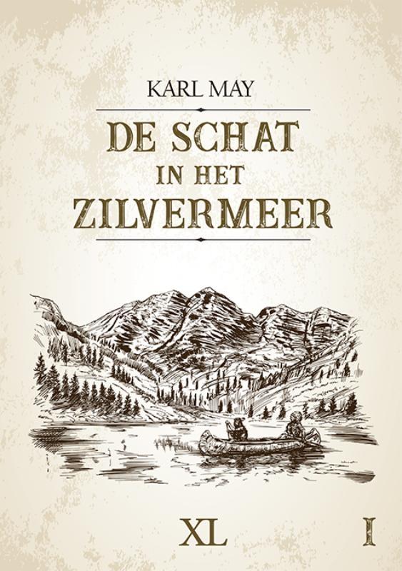 Karl May,De schat in het zilvermeer - (in 2 banden)