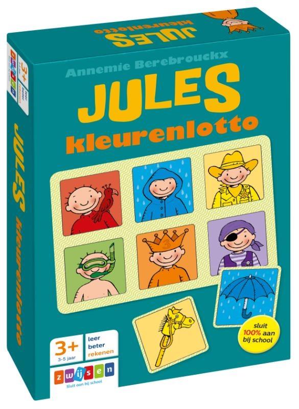 Annemie Berebrouckx,Jules kleurenlotto