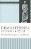 Douglas M. MacDowell,Demosthenes, Speeches 27-38