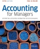 Collier, Paul M.,Accounting For Managers