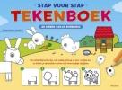 ,<b>Stap voor stap tekenboek - De dieren van de boerderij</b>
