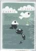 Gil vander Heyden ,Plint poëziekaart `Zwarte vissen` set van 10