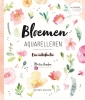 <b>Marie  Boudon</b>,Bloemen aquarelleren