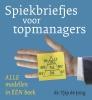 Tjip de Jong,Spiekbriefjes voor topmanagers