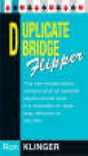 Klinger, Ron Duplicate Bridge Flipper
