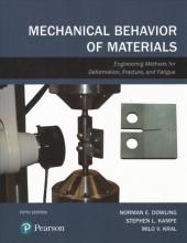 Dowling, Norman E.,   Kampe, Stephen L.,   Kral, Milo V. Mechanical Behavior of Materials