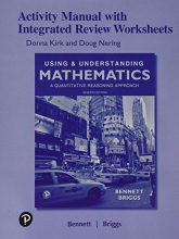 Jeffrey O. Bennett,   William L. Briggs Student Activity Manual with Integrated Review Worksheets for Using & Understanding Mathematics