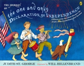 St. George, Judith The Journey of the One and Only Declaration of Independence