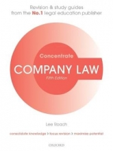 Roach, Lee Company Law Concentrate