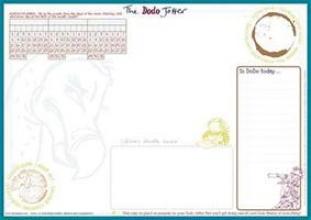 Jay, Rebecca Dodo Jotter Pad - A3 Desk Sized
