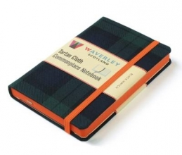 Grosset, Ron Waverley Scotland Large Tartan Cloth Commonplace Notebook -