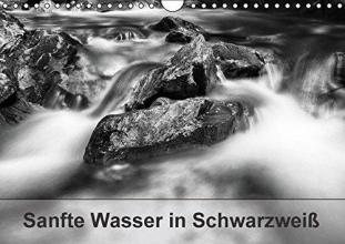 Jörg Leth, Hans Sanfte Wasser in Schwarzweiß (Wandkalender 2016 DIN A4 quer)