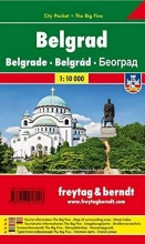 , Belgrad, Stadtplan 1:10.000, City Pocket + The Big Five