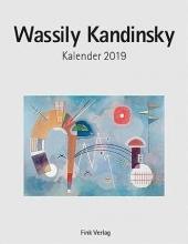 Wassily Kandinsky 2019. Kunstkarten-Einsteckkalender