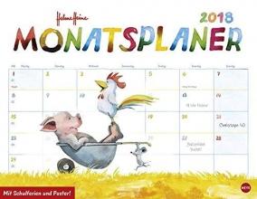 Heine, Helme Helme Heine Monatsplaner - Kalender 2018