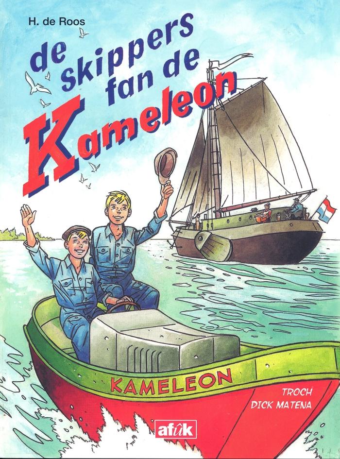 Dick Matena,De skippers fan de Kameleon