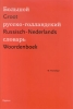 Wim Honselaar, Groot Russisch-Nederlands Woordenboek