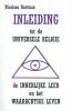 Nicolaas Hartman, Inleiding tot de Universele Religie, de Innerlijke Leer en het Waarachtige Leven