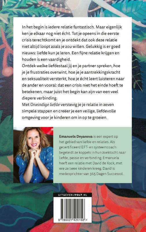 Emanuela Deyanova, David de Kock,Oneindige liefde