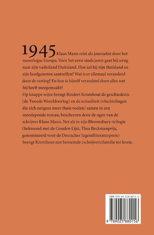 Rindert Kromhout,De naam van mijn vader