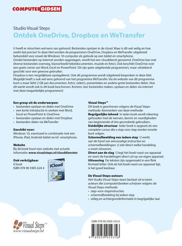Studio Visual Steps,Ontdek OneDrive, Dropbox en WeTransfer