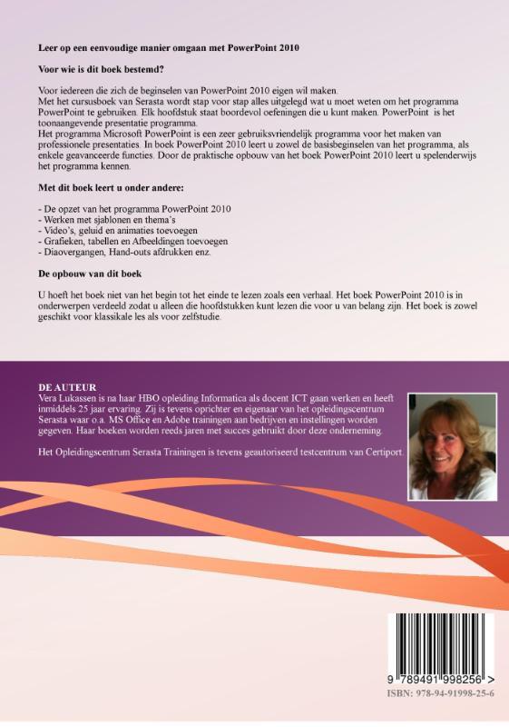 V. Lukassen,PowerPoint 2010 Praktijkboek
