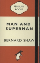 Notebook - man and superman - george bernard shaw