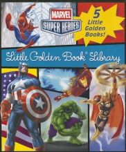 Various Marvel Little Golden Book Library