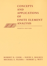 Cook, Robert D. Concepts and Applications of Finite Element Analysis