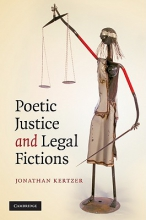 Kertzer, Jonathan Poetic Justice and Legal Fictions