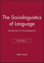 Ralph W. Fasold The Sociolinguistics of Language