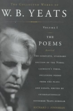Yeats, W. B. The Poems