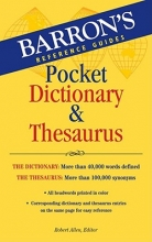 Barron`s Pocket Dictionary & Thesaurus