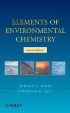 Ronald A. Hites,   Jonathan D. Raff Elements of Environmental Chemistry