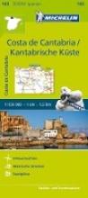 Michelin Costa de Cantabria - Zoom Map 143