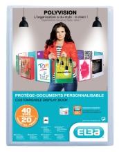 , Showalbum Oxford Polyvision A4 20-tassen PP transparant