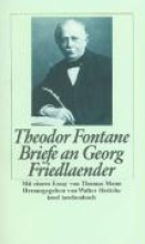 Fontane, Theodor Briefe an Georg Friedlaender