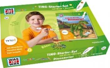 Kaiser, Claudia Was ist was Ting-Starter-Set Dinosaurier. Kinderbuch Dinos und Hrstift