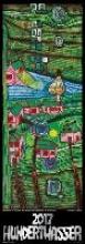 Hundertwasser Streifenkalender Art 2017