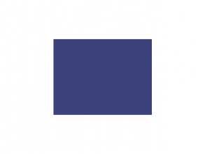 , tekenpapier Folia 50x70cm 130gr pak a 25 vel koningsblauw