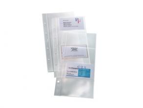 , visitekaarthoes Sigel voor 80 visitekaarten tot 90x58mm
