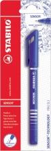 , Fineliner STABILO Sensor blauw blister