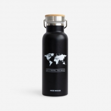 , Woody drinkbus Wereld Zwart - Wit