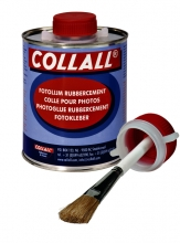 , Rubbercement Collall 1000ml + kwast